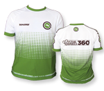 """Coolmax"" T-shirt Green&White"