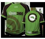 """Coolmax"" T-shirt Green&Brown"
