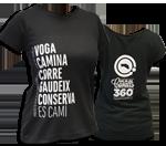 Donatiu per a la conservació del Camí de Cavalls + Camiseta Dona