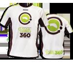 Camiseta unisex Coolmax | Blanca