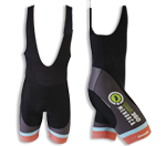 Cycling bib shorts men | Black, Grey, Blue & Coral