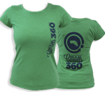 Donation for the Camí de Cavalls conservation + Green women T-shirt