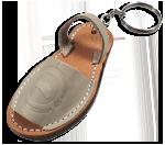 Schlüsselanhänger Sandale
