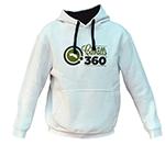 White hoodie |Unisex