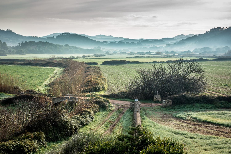 Paisatge rural de l'interior de Menorca.